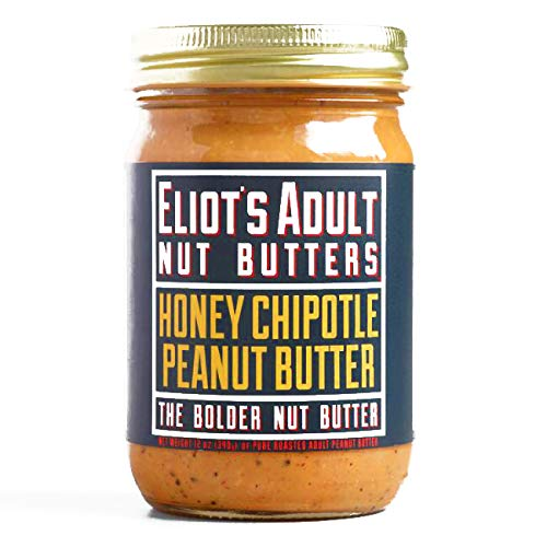 Chipotle On Halloween (Eliot's Adult Nut Butters Honey Chipotle Peanut Butter 12 oz each (1 Item Per Order, not per)