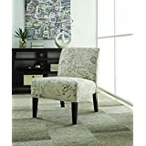 Coaster Traditional Off-White/Grey Accent Chair