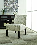 Coaster Traditional Off-White/Grey Accent Chair For Sale