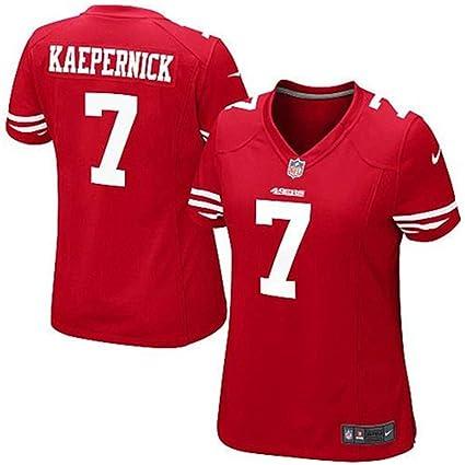 aea68e0a5 Nike Colin Kaepernick San Francisco 49ers NFL Girls Youth (Girls Small 6 7)