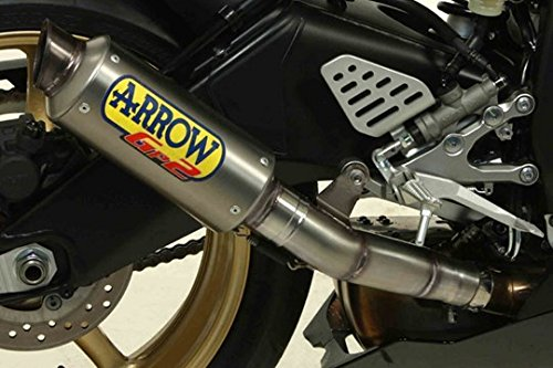 Arrow Exhaust GP2 Titanium Slip-On for Yamaha R6 2008-2014 71002GP Arrow Exhaust R6
