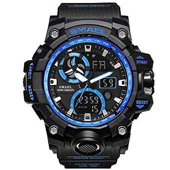 FRAUIT Smartwatch Hombre deporte Reloj Inteligente Hombre deporte Smartwatch para Deportes Y Aire Libre con contadores de Podómetro Calorías ...