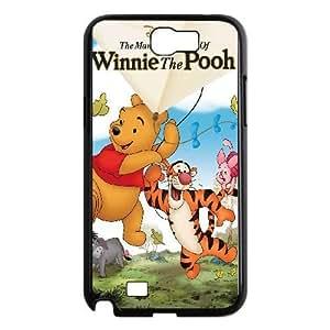samsung n2 7100 phone case Black Many Adventures of Winnie the Pooh DFG8448340