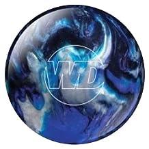 Columbia 300 White Dot Bowling Ball- Blue/Black/Silver