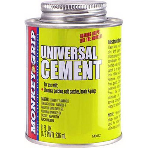Bell Automotive 22-5-08062-M Monkey Grip Rubber Cement, 1/2 Pint by Bell