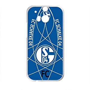 ZXCV FC Schalke 04 Brand New And Custom Hard Case Cover Protector For HTC One M8