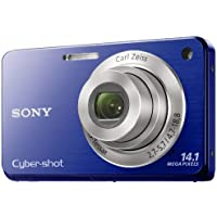 Sony Cyber-Shot DSC-W560 14.1 MP Digital Still Camera with Carl Zeiss Vario-Tessar 4x Wide-Angle Optical Zoom Lens and 3.0-inch LCD (Blue) Review Review Image