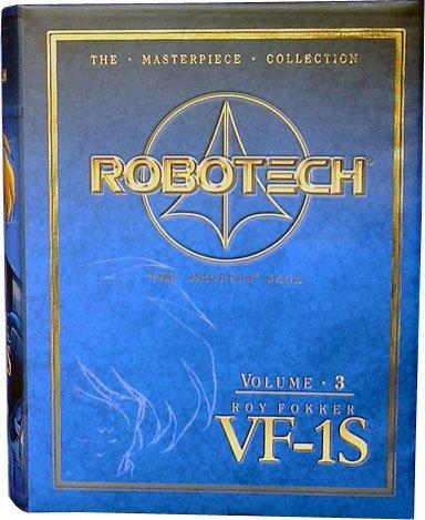 Robotech Masterpiece Collection Vol 3 VF-1S Roy Fokker Model (Robotech Masterpiece)