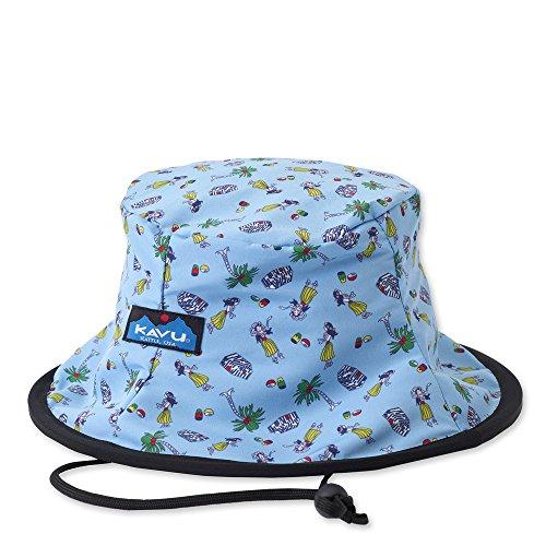 KAVU Fishermans Chillba Fishing Hat, Hula Girls, One Size