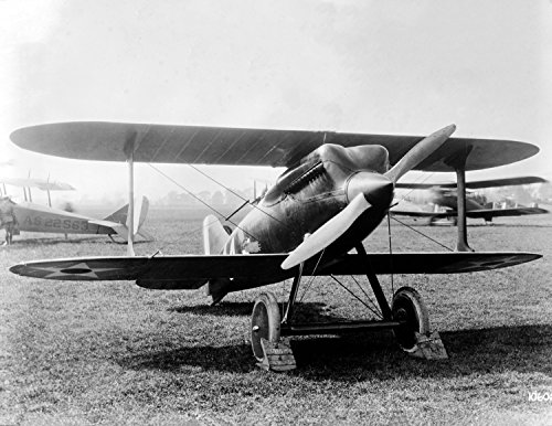 Curtiss Racer Plane Vintage Photograph 8.5