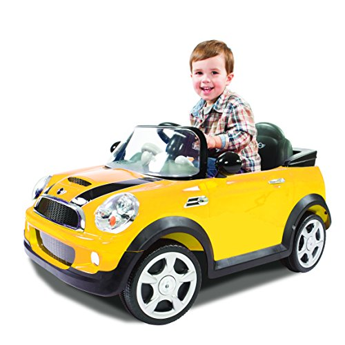 amazoncom rollplay mini cooper 6 volt battery powered ride on toys games
