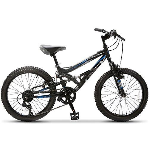 GTM 20-Inch Children Kid's Mountain Bike 7 Speed Shimano Hybrid bike