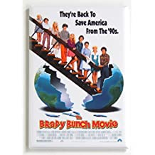 The Brady Bunch Movie Poster Fridge Magnet (2 x 3 inches)