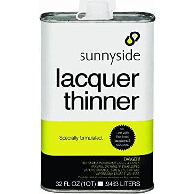 Sunnyside 45732 Lacquer Thinner, 1-quart (Pack Of 12)