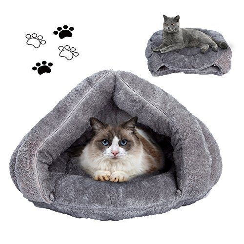 Cat Bed Cat Sleeping Bag Sleep Zone For Puppy Cat Rabbit Bed Small Animals Shearling Sleeping - Sleeping Bed Animal Bag