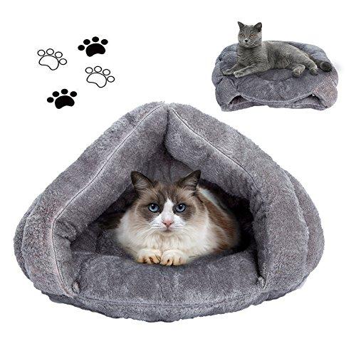 Cat Bed Cat Sleeping Bag Sleep Zone For Puppy Cat Rabbit Bed Small Animals Shearling Sleeping - Bed Bag Sleeping Animal