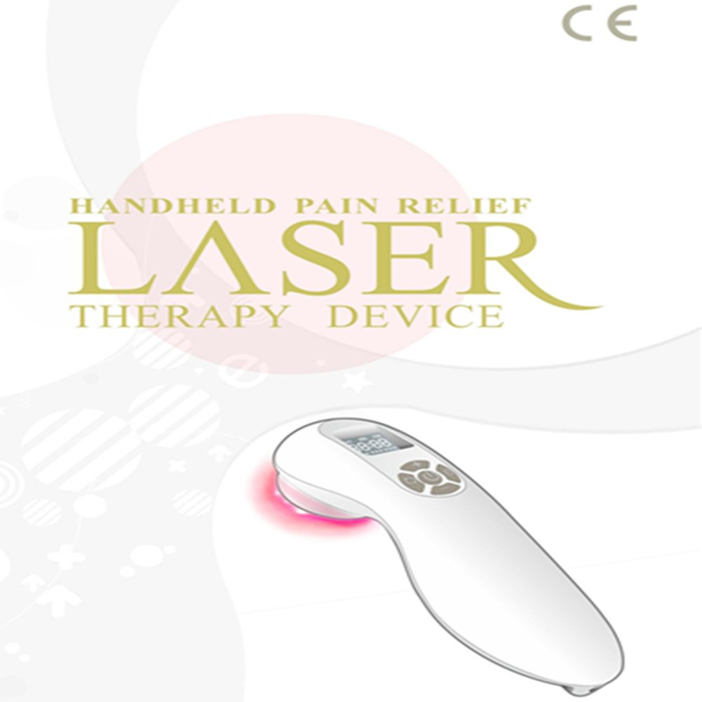 Handheld Medical Pain Relief Laser Therapy Device Cold Laser Low Intensity Acupuncture Pain Relief For Pain Rheumatoid Arthritis Injuries Sprain Wound Ulcer Diminish Inflammation Used At Anywhere