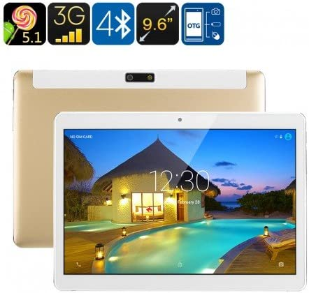 3G Android Tablet PC - Android 5.1, Dual-IMEI, Google Play, OTG ...
