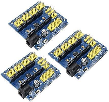 10PCS Nano V3.0 AVR ATMEGA328P-AU Module Terminal Adapter Board For Arduino