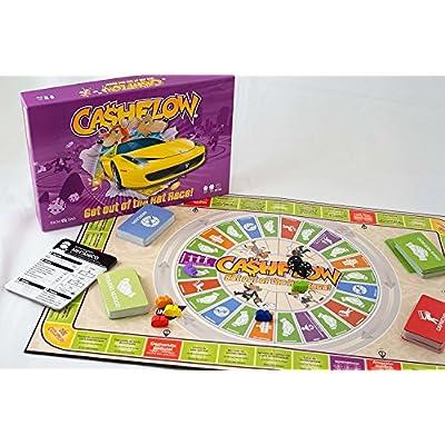 CASHFLOW Board Game (Spanish) with Exclusive Bonus Message from Robert Kiyosaki: Toys & Games