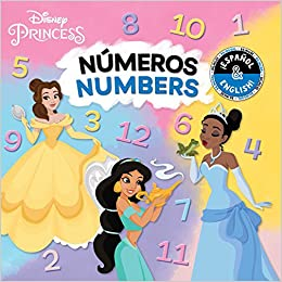 Numbers / Números (English-Spanish) (Disney Princess) (Disney Bilingual): BuzzPop: 9781499807806: Amazon.com: Books