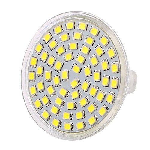 eDealMax 110V 6W MR16 2835 SMD 60 LED LED lampadina del riflettore della luce verso il basso lampada di illuminazione bianca