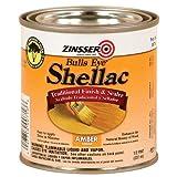 zinnser seal coat - Rust-Oleum 716 Bulls Eye Amber Shellac, 1/2-Pint