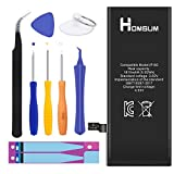 HOMSUM Li-ion Battery Model iPhone 6 - With Repair Tool Kits & Instructions - Full 1810 mAh 0 Cycle [365 DAYS Warranty]