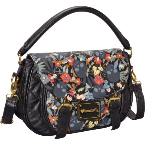 Loungefly Skull Garden Crossbody Bag (Multi Colored), Bags Central