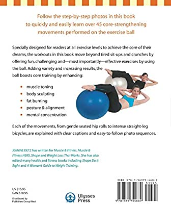 Ultimate Core Ball Workout: Strengthening and Sculpting Exercises ...