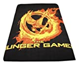 The Hunger Games Movie - Polar Fleece 50''x60'' Throw, Mockingjay Fire