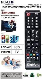 JPWOnline - Mando a distancia compatible con Samsung Digivolt SA-36: Amazon.es: Electrónica