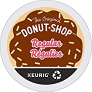 Donut Shop Coffee Single Serve Keurig Certified Recyclable K-Cup pods for Keurig brewers, 24 Count