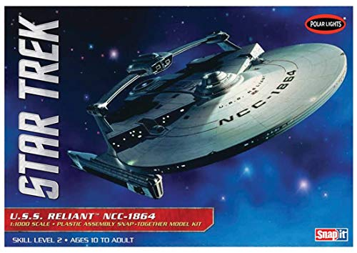 (Polar Lights 1:1000 Scale Star Trek USS Reliant Model Kit)