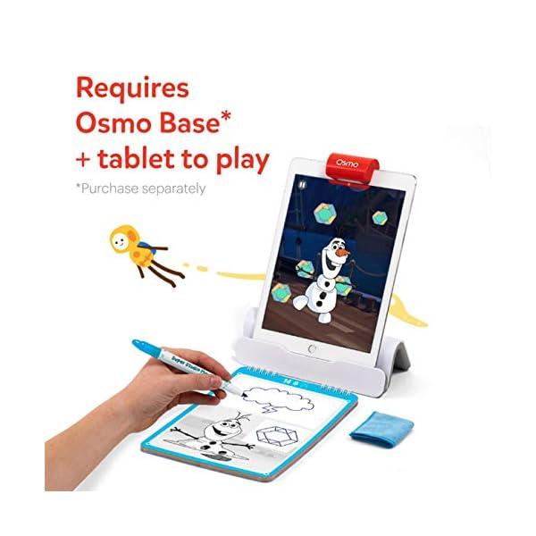 Osmo Essence Super Studio Disney Frozen 2 Game – Et 5-11 – Imparare a disegnare Elsa, Anna, Olaf & More Favorites & Guarda Come to Life – per iPad & Fire Tablet Base necessaria 2 spesavip