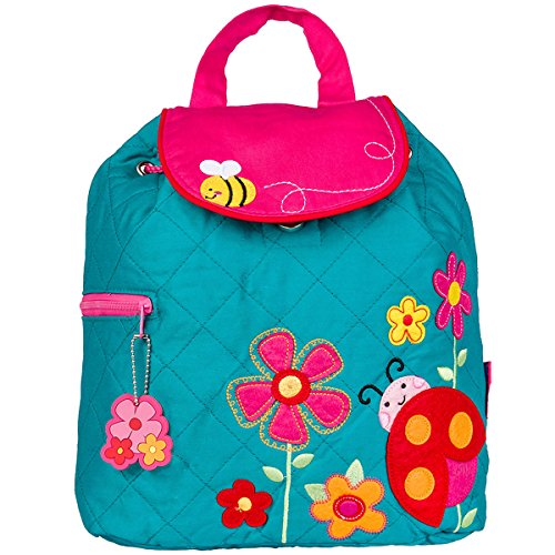 Stephen Joseph Quilted Backpack, Ladybug (Quilted Ladybug)