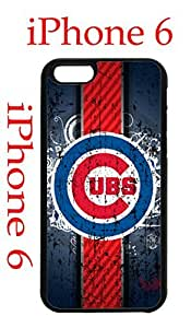 Chicago Cubs iPhone 6 4.7 Case Hard Silicone Case