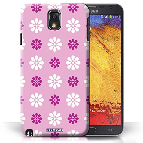 Etui / Coque pour Samsung Galaxy Note 3 / Rose conception / Collection de Motif avec pétales
