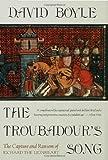 Troubadour's Song, David Boyle, 0802714595