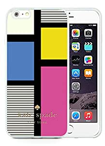 Personalized Popular Design iPhone 6 Case Kate Spade New York Phone Case For iPhone 6 4.7 Inch TPU Cover Case 230 White