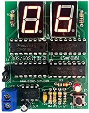 DDIY 30/60s Counter Timer Simple Stopwatch Digital Electronic Technology Practice and Training Kit