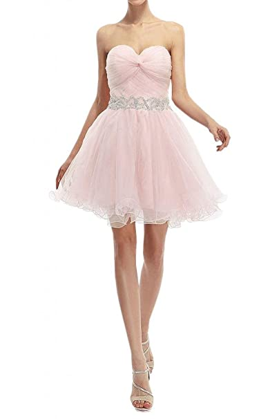 902bd65f3d7 Angel Bride Mini A-Line Bandage Party Cocktail Homecoming Dresses Light  pink- US Size