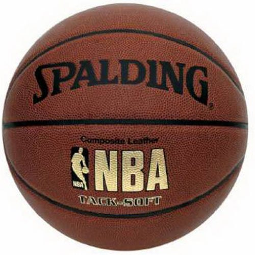Spalding NBA Tack Soft Basketball - Official Size 7 (29.5