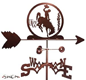 Universidad de Wyoming Wyo Cowboys soporte de soporte de forma de gallo ~ nuevo ~ por Swen productos