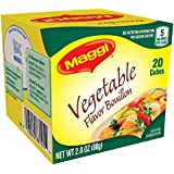 Maggi Vegetable Flavor Bouillon Cubes, 2.82 oz