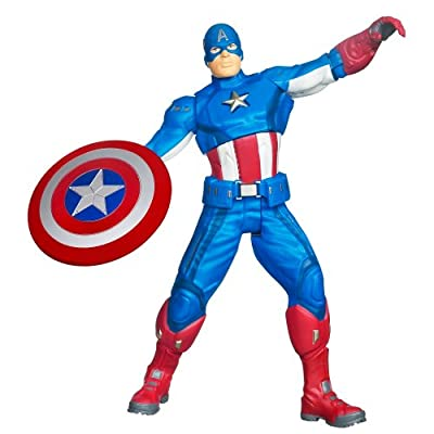 Avengers Power Attack Captain America 10 Figure by Hasbro