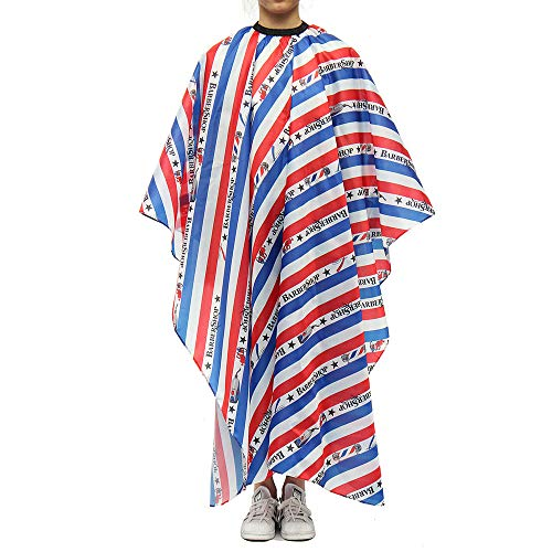 (WEUIE Pro Salon Hair Cutting Cape Barber Hairdressing Haircut Apron Cloth for Unisex)