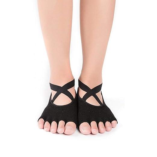RoadRoma Women Sports Yoga Dancing Ballet Socks Breathable ...