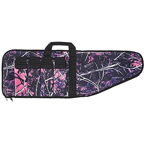 Gun Case Extreme (Bulldog Cases Extreme Muddy Girl Bag with Black Trim, Camo/Black, 43-Inch)