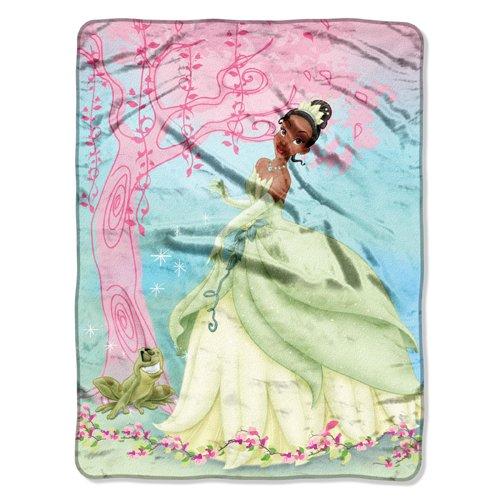 Micro Blanket Raschel 50x60 Throw (Princess and the Frog